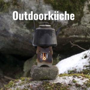 Ausrüstung für die Outdoorküche