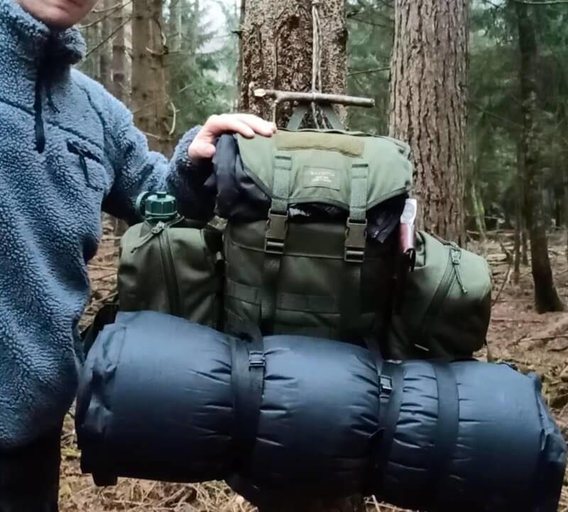 Savotta Jäger S – Winter Setup
