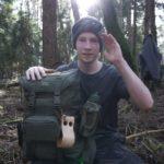 Ohne Isomatte bei 1 Grad? 22  Liter Biwak – Jäger S